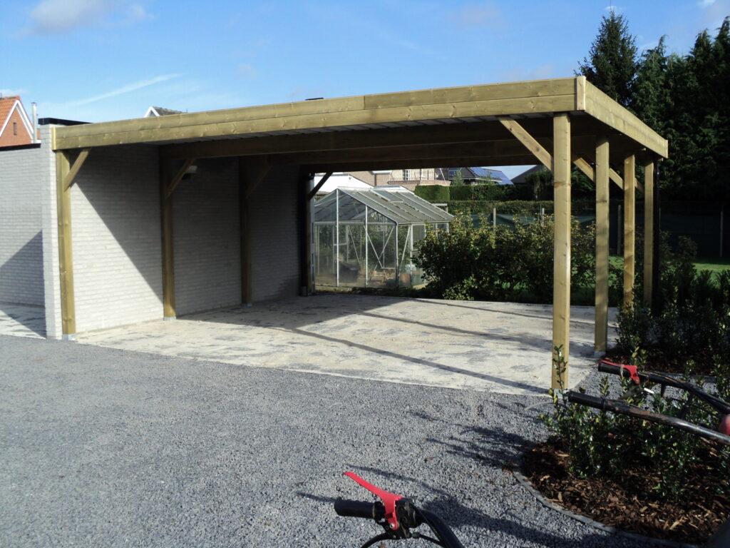 Carport - aanbouw