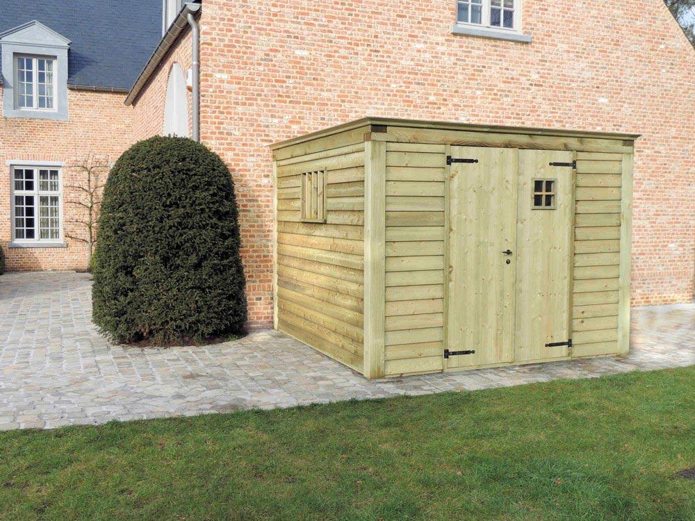Tuinhuis Cottage - Plat dak