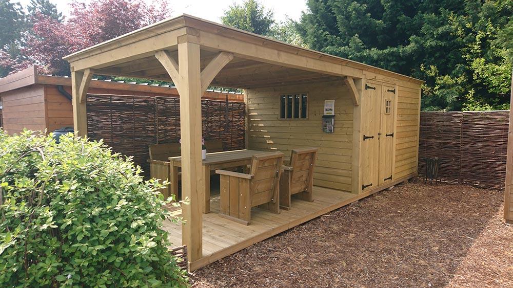Tuinhuis Cottage - Toonpark - Plat dak