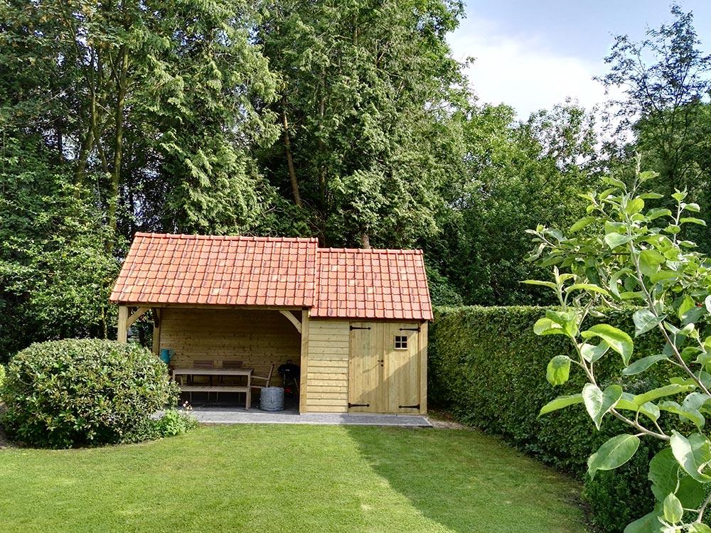 Tuinhuis Cottage - Met pannen