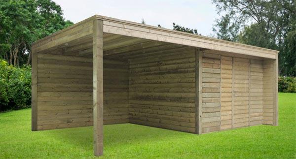 Tuinhuis - Modern