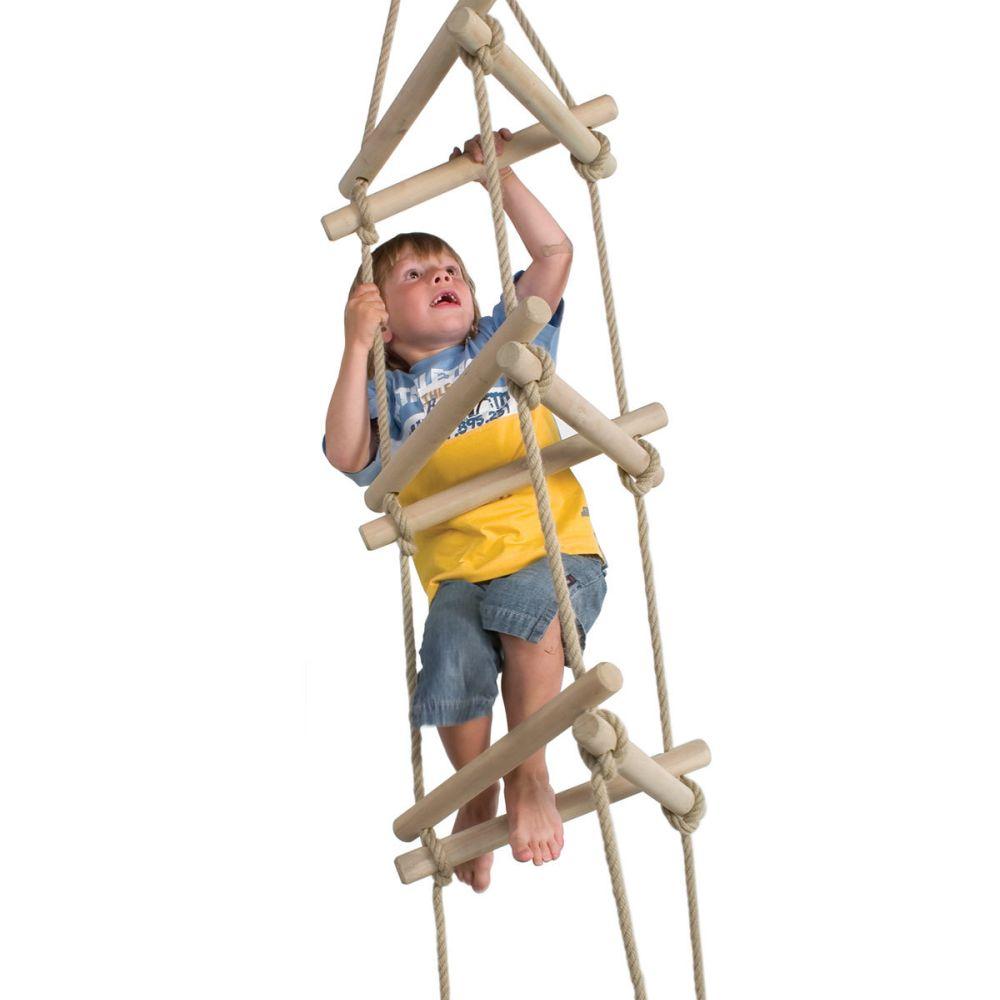 driezijdige touwladder