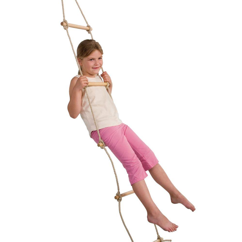 enkelzijdige touwladder